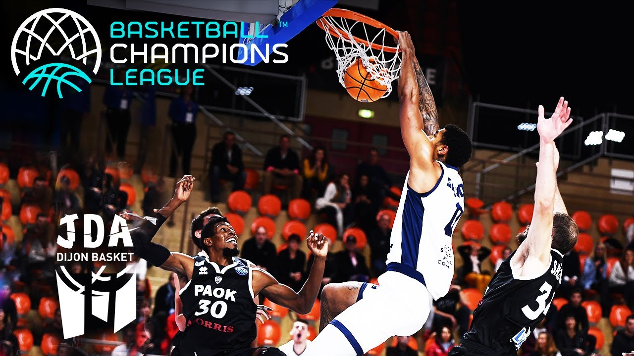 JDA Dijon's Top 10 Plays | Basketball Champions League 2019