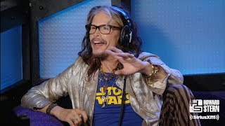 Steven Tyler Remembers the Time He Jammed With Led Zeppelin (2016)