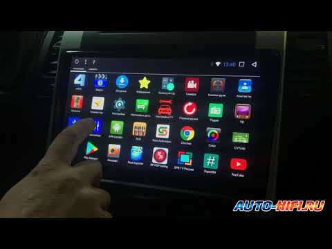 Головное устройство от RedPower с экраном 10 дюймов на системе Андроид