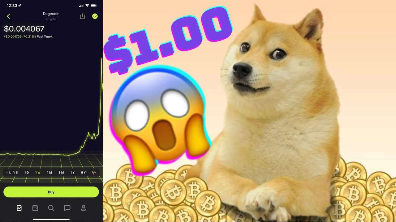 Dogecoin to $1?? How Likely Is This?? #DogecoinChallenge ...