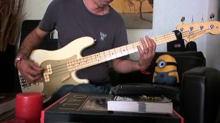 Nirvana Blew bass cover