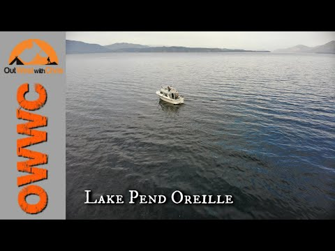 Lake Pend Oreille Trout Fishing - So Many Lost Fish