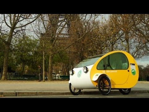The Mo solar-poweed electric velomobile