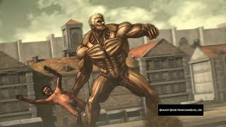 Attack on Titan Wings of Freedom All Titan Shifters Attacks and Killing Blows