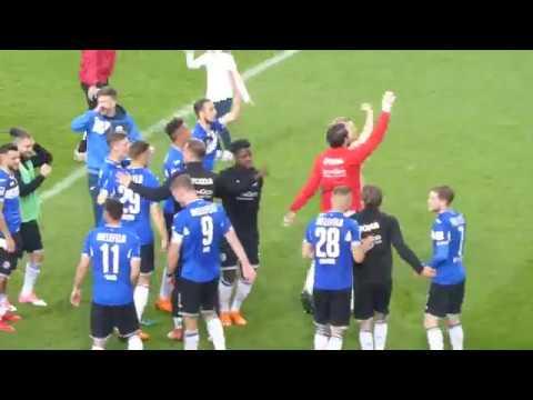 Arminia Bielefeld - 1. FC Kaiserslautern 3:2 (27.4.18) 2. Liga