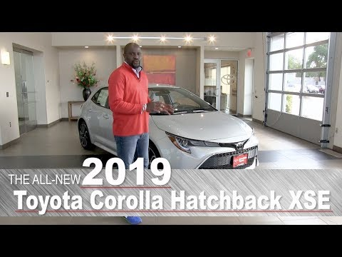 All-New 2019 Toyota Corolla Hatchback XSE | Mpls, St Paul, Brooklyn Center, Coon Rapids, MN | Review