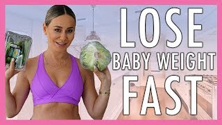 How I Lost My Baby Weight in 6 Months- Workout & Meal Recipes Included!