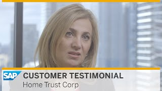 SAP MaxAttention helps Home Trust Corp to run simple