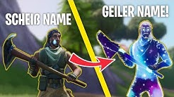 Fortnite Name ändern auf PC, Xbox, Nintendo Switch, Android Handy, Apple iPhone und Apple iPad