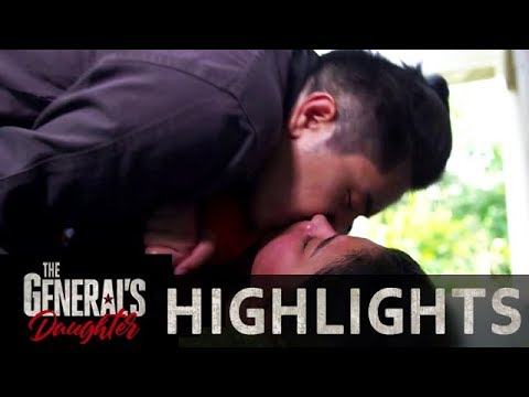 Franco steals a kiss from Rhian   The General's Daughter Mp3