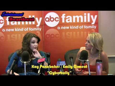 """Emily Osment, Kay Panabaker Shed Light on a Disturbing Trend - """"Cyberbully"""""""