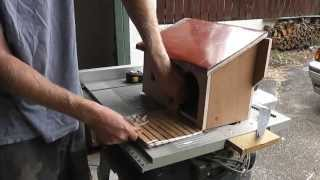 Diy Birdhouse Instructions. Building A Birdhouse For The Pheasantasiam (large Aviary)