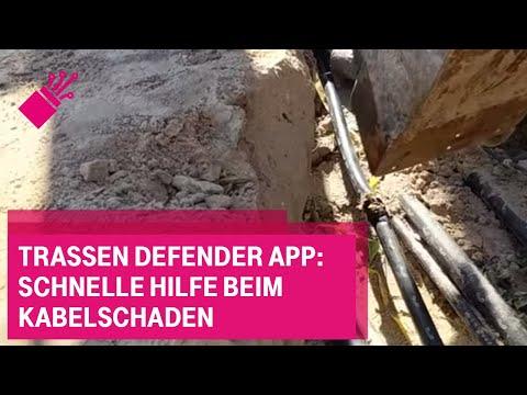 Social Media Post: Trassen Defender App: Schnelle Hilfe beim Kabelschaden