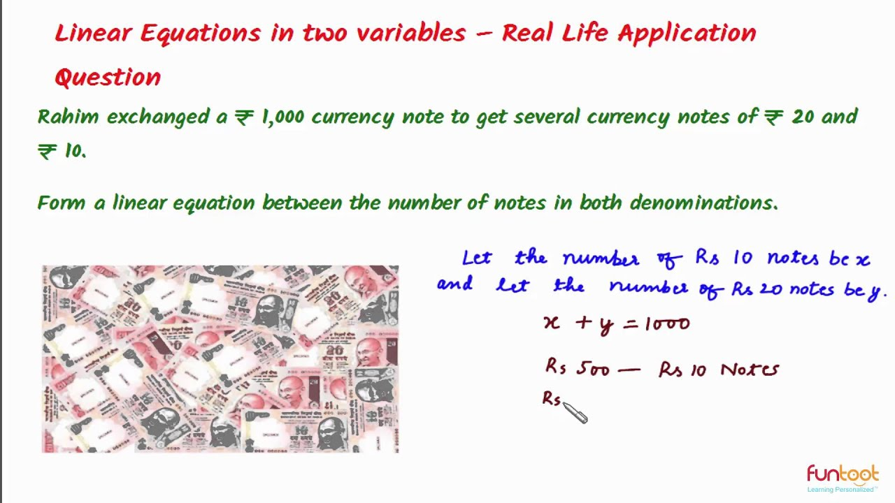 real life applications of linear inequalities