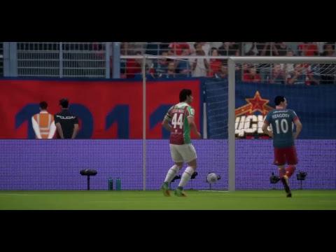 FIFA18  Russian League  CSKA Moscow - Rubin Kazan