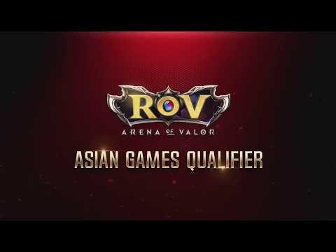 RoV Asian Games Qualifier EP 8  Hong Kong Vs Chinese Taipei