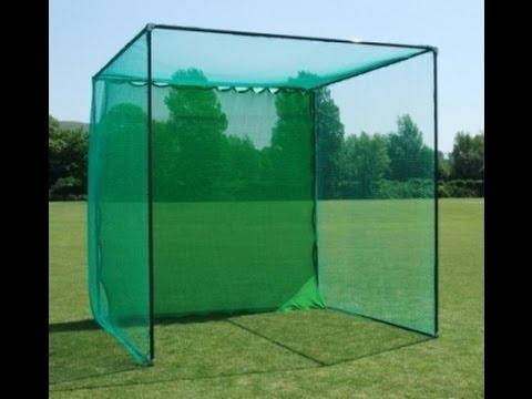 Homemade golf Net//Range - YouTube