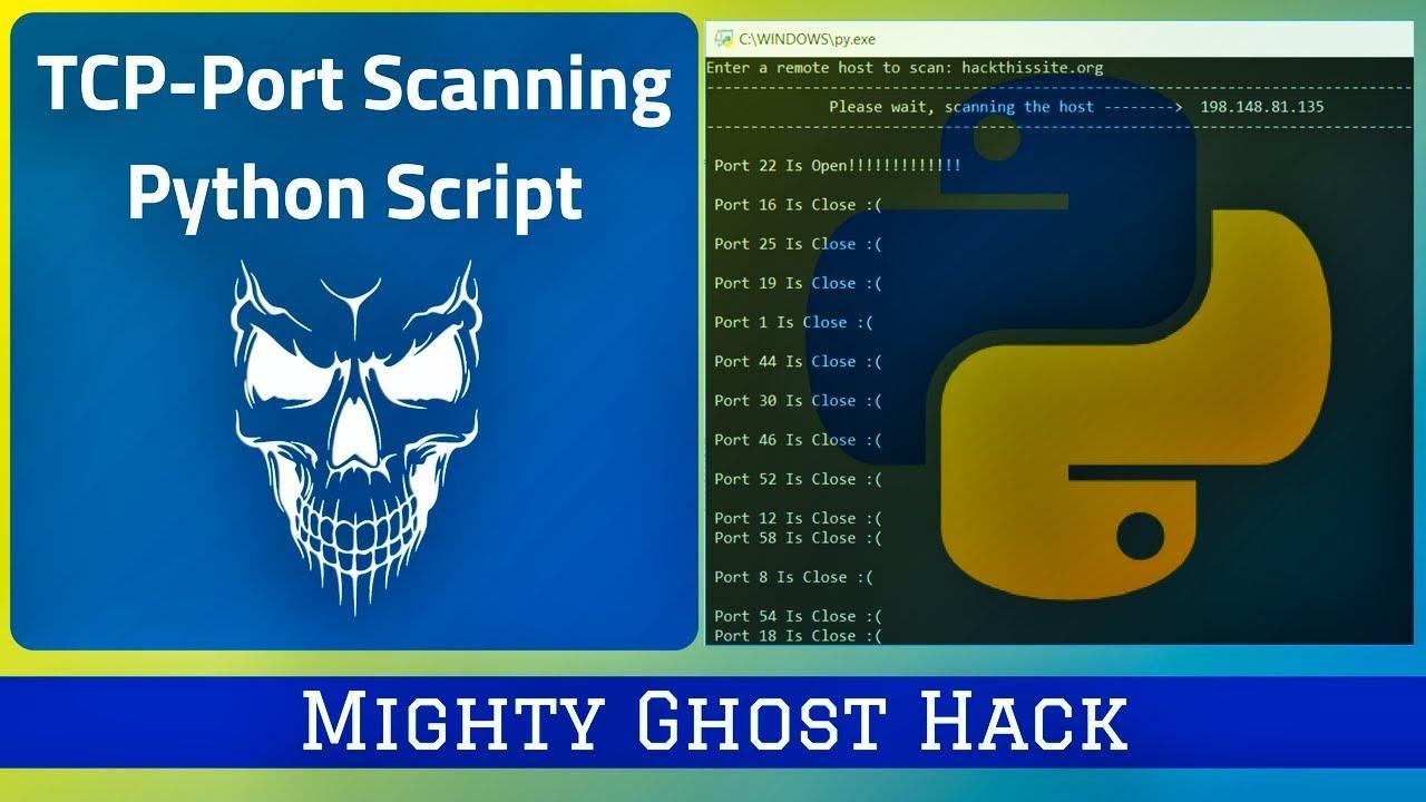 TCP-Port Scanner Python Script
