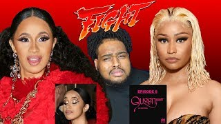 NICKI MINAJ AND CARDI B'S FASHION WEEK FIST FIGHT!!!