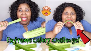 EXTREME STALK OF CELERY CHALLENGE! W/ CHANNEL SHOUTOUTS