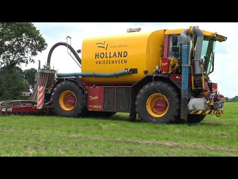 Zodebemesten met Vredo VT3936 - Holland Agri-service (2016)