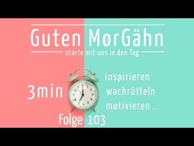 Guten MorGähn   Folge 103   Shawn über Kirche - Jugend - Zukunft