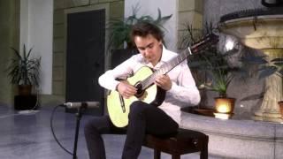 Janko Rašeta plays Sor Sonata Op. 22 - Allegro