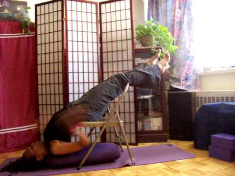 modified urdhva dhanurasana  sarvangasana 4 12 09  youtube