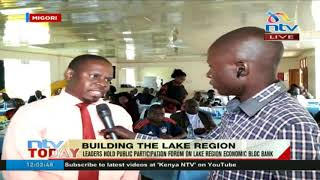 Leaders hold public forum on Lake region economic bloc bank