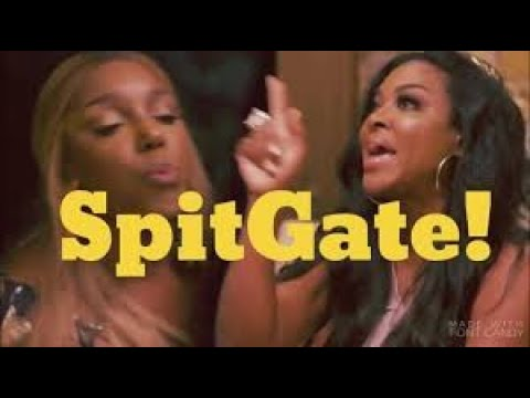 Nene Leakes From The RHOA Tells Kenya Moore Girl This Is Not What You Want Lil Girl Honey Review
