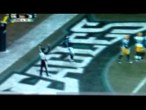 Packers beat Eagles in the 2011 NFL PLAYOFFS