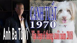 CANH TUẤT 1970 & Vận Hạn 6 Tháng Cuối Năm 2018