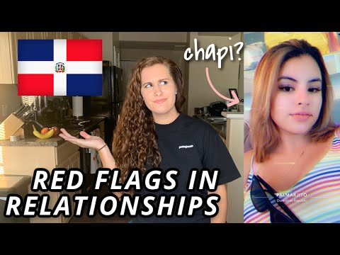 DATING IN THE DOMINICAN REPUBLIC / RED FLAGS IN A RELATIONSHIP