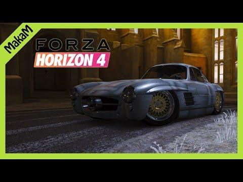Oszt driftre jó-e? #4 | Forza Horizon 4 | Mercedes-Benz 300SL Coupé '54 thumbnail
