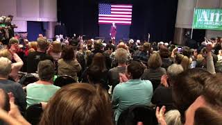 Amy Klobuchar campaigns in OKC