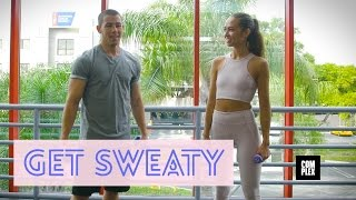 nick jonas teaches us how to box and talk to girls in get sweaty with emily oberg   complex