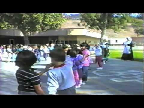 Home video 80s Kindergarden 1988 Collegewood Elementary school