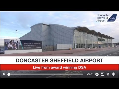 LIVE: Doncaster Sheffield Airport celebrates Which? Best Small UK Airport Award
