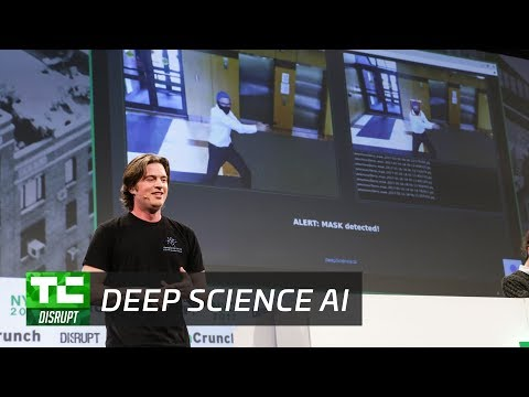 Deep Science AI: Automated Real-Time Security Monitoring | Startup Battlefield Disrupt NY 2017