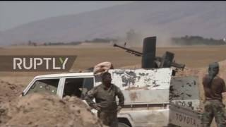 Iraq  Shia forces continue to battle IS outside Mosul