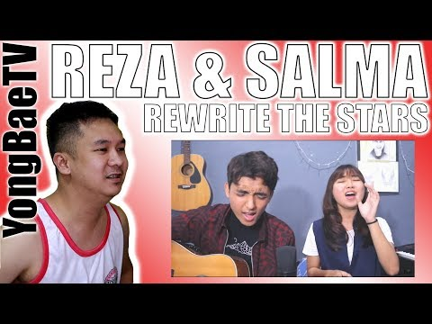 Reza Darmawangsa & Salma - Rewrite The Stars (OST. The Greatest Showman) COVER | Reaction + Comments