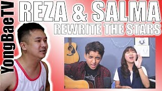 Reza Darmawangsa Salma Rewrite The Stars OST The Greatest Showman COVER Reaction Comments