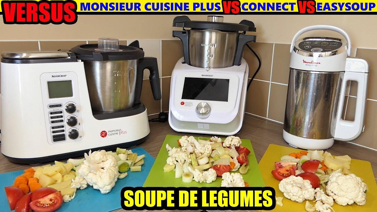 Monsieur Cuisine Connect Vs Moulinex Easy Soup Vs Monsieur Cuisine