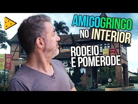 VISITAMOS RODEIO E POMERODE EM SANTA CATARINA | AMIGO GRINGO NO INTERIOR #6