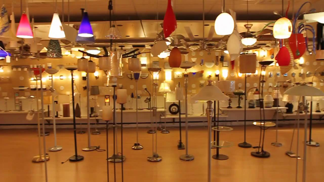 Savio Lighting Showroom - YouTube