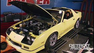 The 1986 Chevrolet Camaro Iroc Z Budget Build Part 1 - Detroit Muscle S3, E1