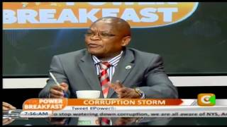 Power Breakfast Interview On The Corruption Storm