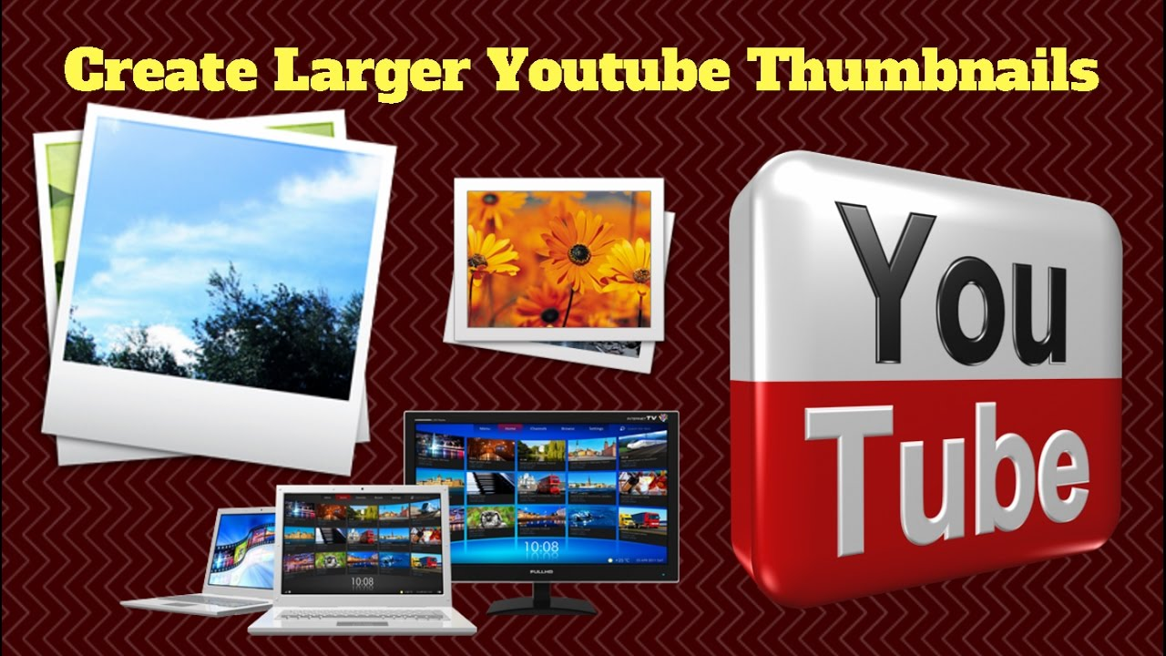 Create Larger Youtube Thumbnails for Facebook 2016 |YouTube Thumbnail Not  Showing on Facebook