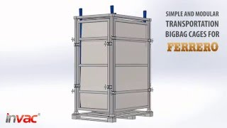 INVAC - Special Production Transportation Bigbag Cages For Ferrero Group