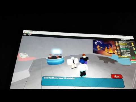 THE START/Project Pokemon (Roblox) part 1
